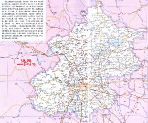 北京辖区全图
