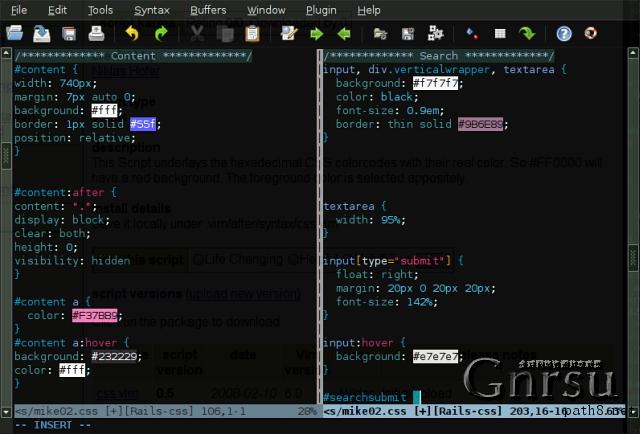 gVim 2 gVim(Vi  IMproved、自由钻头):让你体会到什么才是真正的编辑利器
