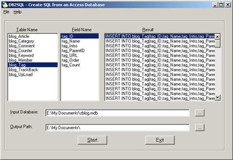 DB2MySQL的界面