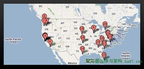 Google数据中心-北美
