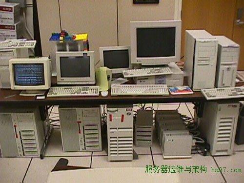 Google的第一个数据中心
