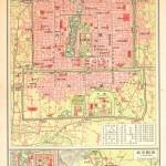 北京老地图 北平