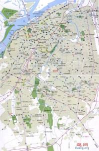 harbin哈尔滨市地图